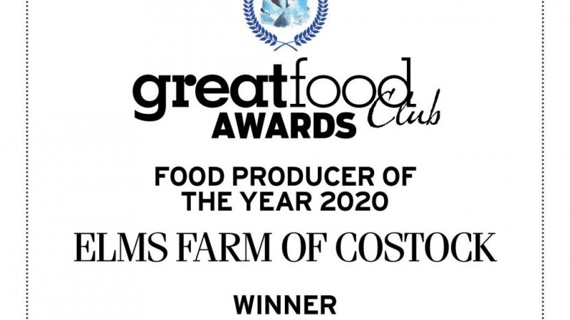 Great food club award
