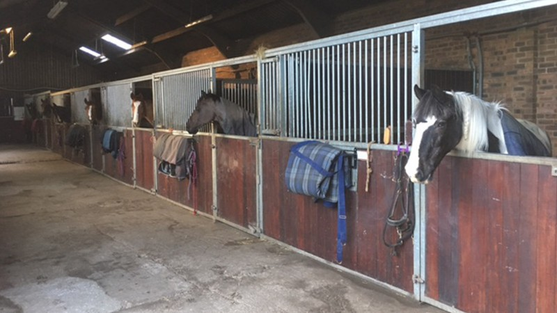 Horse stables near Nottingham