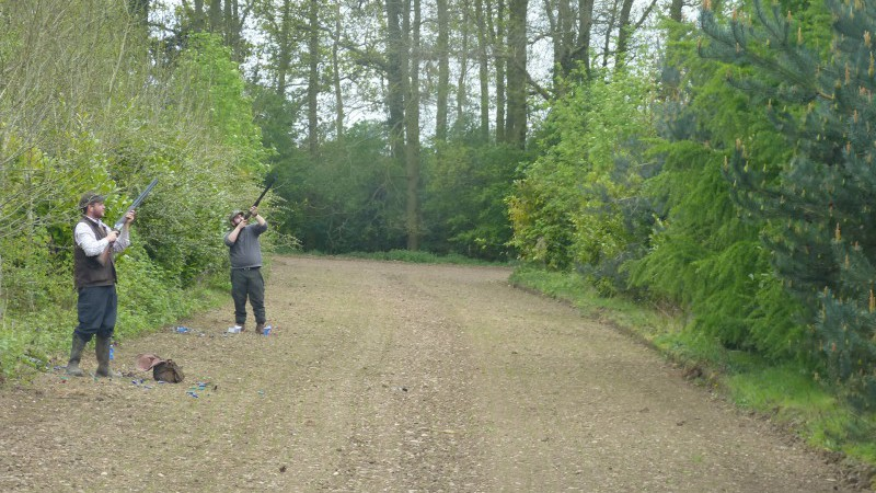 Shooting experience at Elms Farm Costock